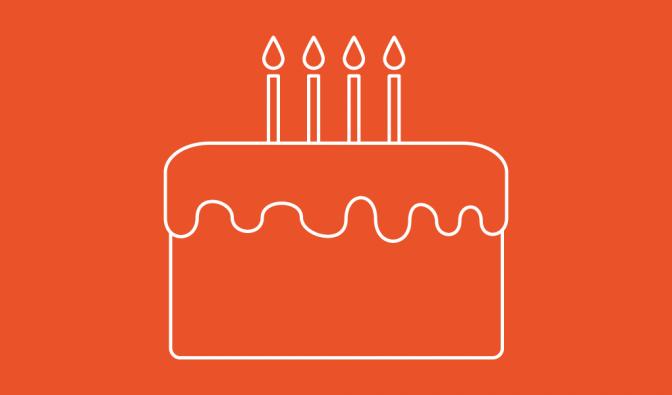 OpenSRS birthday cake